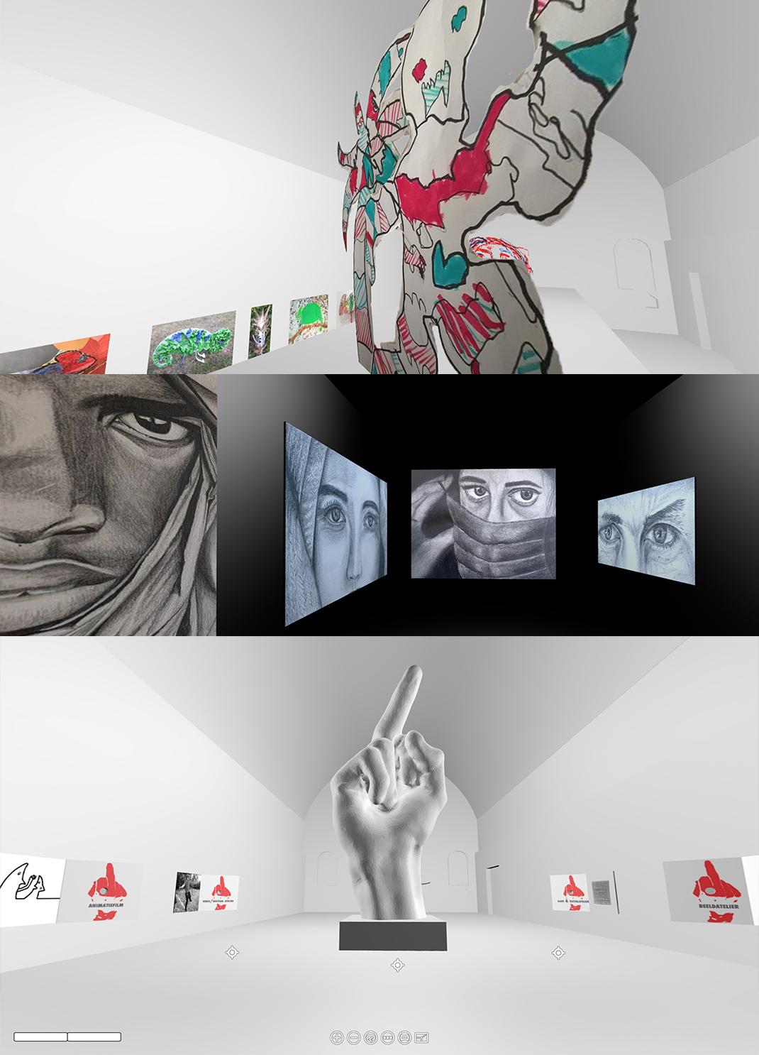 Virtuele tentoonstelling Creative Capture Covid-19 / Change[d] Time[s]